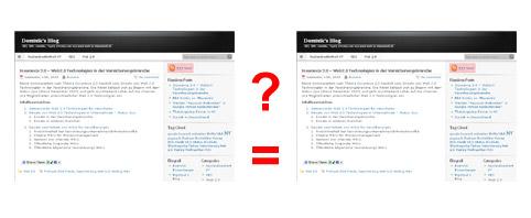 Gleiche Inhalte eine Gefahr in Suchmaschinen?